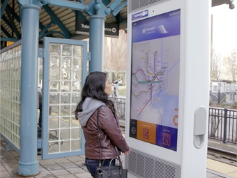These customer experience upgrades come at no cost to NJ TRANSIT or riders because they are supported by dynamic advertising on the IxNTouch displays.