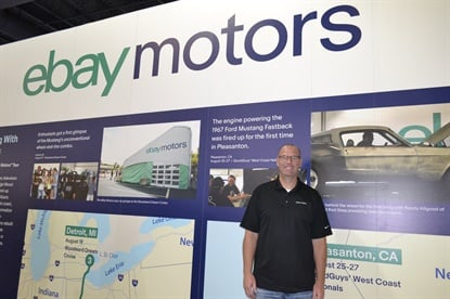 Matt Thomas says offering tire installation makes sense for eBay Motors because it opens up the door to more online tire purchases with new consumers.