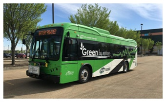 Each K9S bus costs $970,000 Canadian dollars, and are a part of Alberta's Green Transit Incentives Program to support public transit infrastructure and reduce greenhouse gases and the amount of vehicles on province roads.