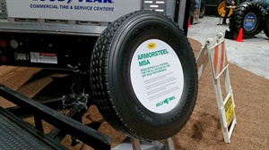 The Kelly Armorsteel MSA is one of three new Kelly truck tires.