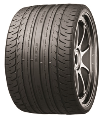 The Kumho Ecsta was developed in size 385/15ZR22 in 2008, but it was never available in the aftermarket.