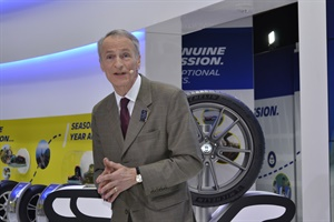 """Our industry is one of the most sustainable industries,"" said Michelin's Jean-Dominique Senard."
