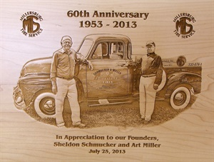Sheldon Schmucker and Art Miller opened a gas station in 1953 that morphed into Millersburg Tire.