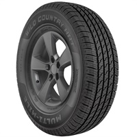 The Multi-Mile Wild Country HRT is the latest light truck tire in the Multi-Mile line.