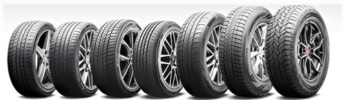 """The seven new products include the flagship Toprun M30 ultra-high performance all-season tire and the 4Run M4 """"true"""" all-season."""