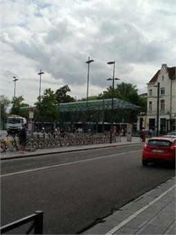 Multimodal interchange in Brussels.Giles Bailey