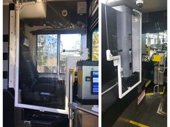 Agencies have recently deployed driver shields to help mitigate assaults. Metro Transit