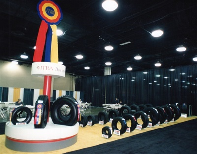 The retread appearance contests were prominently featured at the Retread Expo in Louisville, Ky.