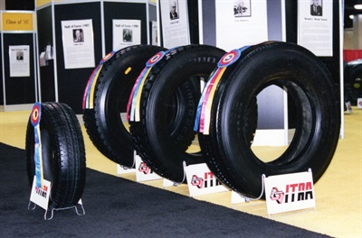 A Best in Show Award at the retread appearance contest was the sign of a beautifully crafted retread.