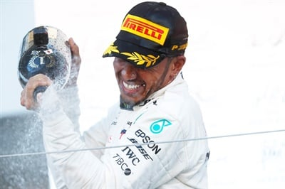 Winner Lewis Hamilton had the best lap time on the medium tire compound and third-best on the soft compound.