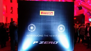 Pirelli easily competed with the glamour and glitz that is Las Vegas.