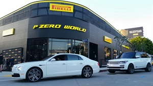 Pirelli held a grand opening for its first P Zero World retail store.