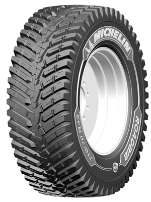 Michelin says the new RoadBib tractor tire offers long life, fuel savings, operator comfort and exceptional road handling.