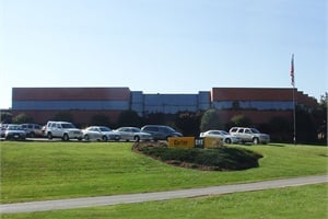 Pictured is Carter Machinery Co. in Salem, Va. The company will serve Blue Bird's customers in Virginia.