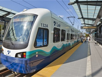 The 26% year-to-date growth includes the fact the agency's University Link light rail extension did not operate for most of the first quarter of 2016, and the system's Angle Lake station opened in September 2016.