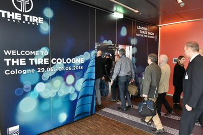 A special pre-event European Press Conference for Tire Cologne was staged by Koelmesse GmbH late last year.