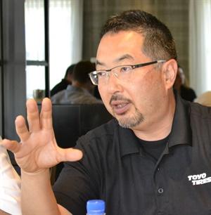 "Tomoshige ""Tomo"" Mizutani took over as CEO and president of Toyo Tire North America OE Sales LLC on Jan. 1."