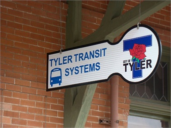 With Tyler Transit, RATP Dev holds seven contracts in the state of Texas, including Arlington, Austin, Fort Worth, Longview, Lubbock, Midland-Odessa, and Waco. Photo courtesy of Carve Communications.