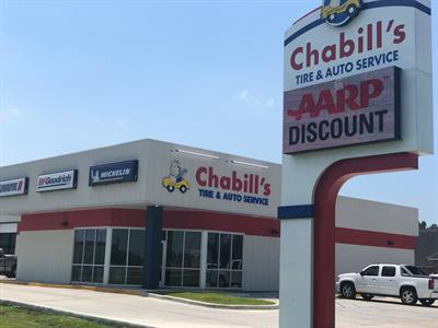 A Chabill's Tire & Auto Service store opened in Port Allen, La., in August 2018. Two more stores are on the drawing board for 2020, says CEO Beth Barron.