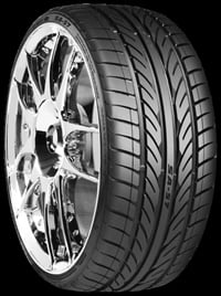 The new SA57 tread pattern features strong center ribs.
