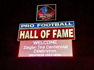 Ziegler Tire celebrated its 100th anniversary at the Pro Football Hall of Fame in Canton, Ohio.