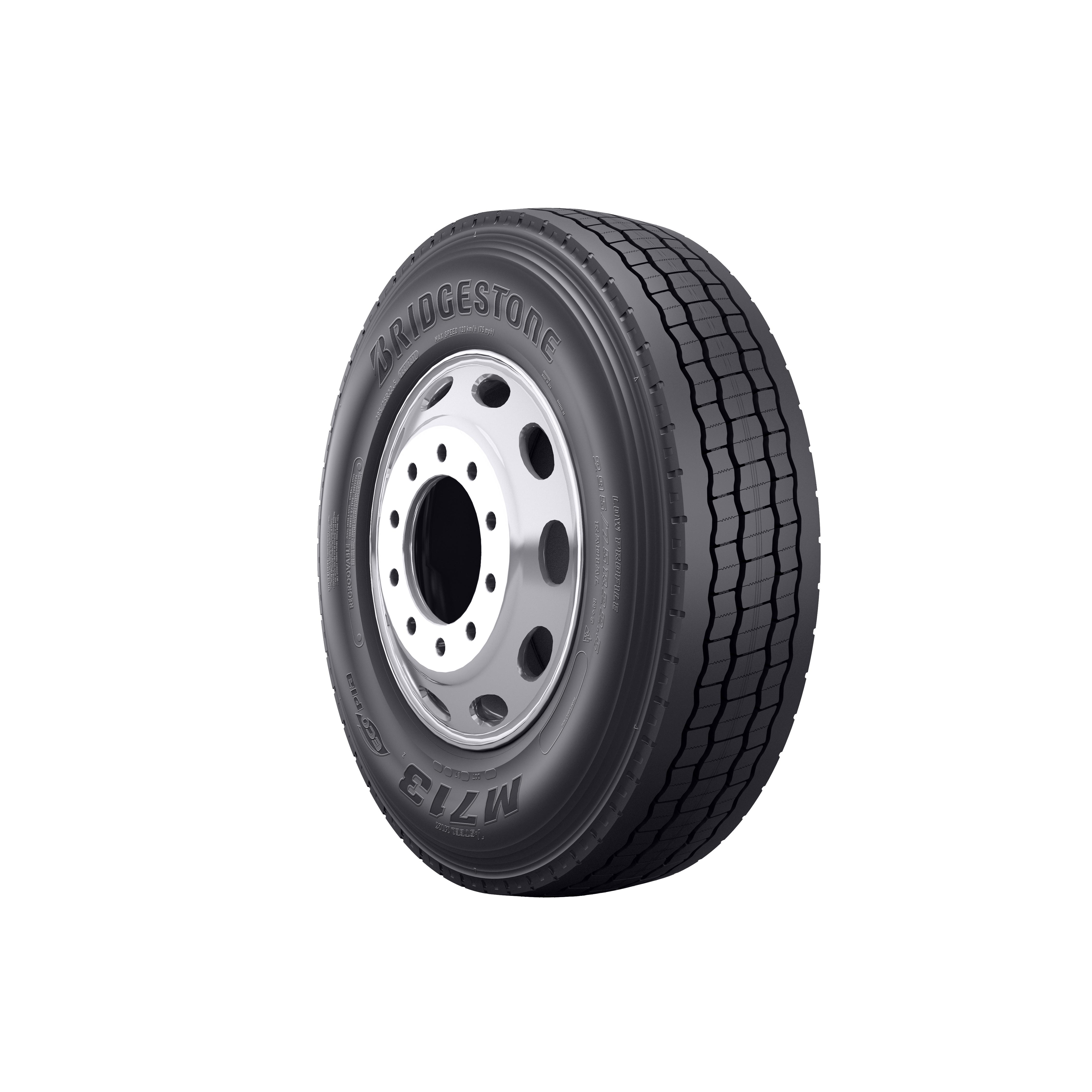 Bridgestone Introduces New Ecopia Truck Tire