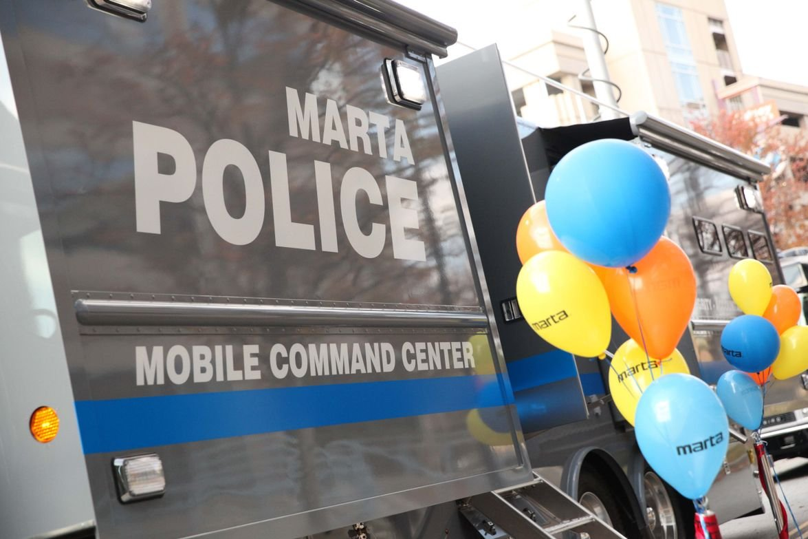 The 45-foot command center provides enhanced communication and response tools to the MARTA...