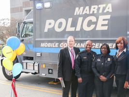 (From left) MATC Program Manager Jack Buckingham, MARTA Emergency Preparedness Manager Lt. Aston...
