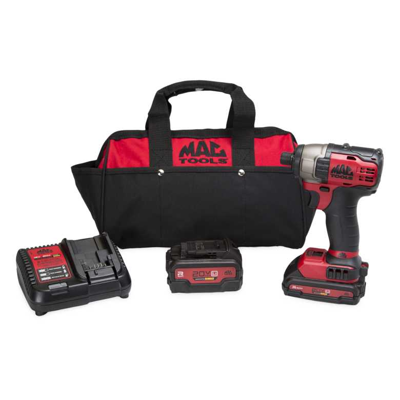 Mac Tools Offers Brushless Impact Driver Kit