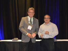 Michael Hubbell and Getty Modica were named METRO's Transit Maintenance Directors of the Year...