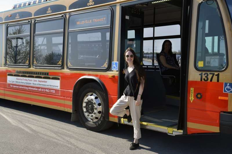 Canadian town transforms fixed-route bus fleet to on ...