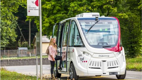 In Fribourg, Switzerland, the public transit agency TPF launched last-mile services from a bus...