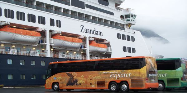 Royal Highway Tours, owned by Princess Cruises and Holland America Tours, took the seventh spot...