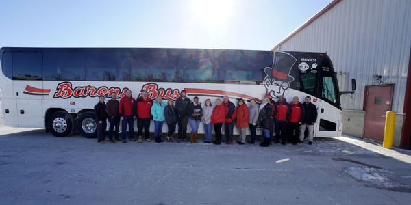 In addition to an excellent safety record, Barons boasts a new fleet of MCI motorcoaches and a...