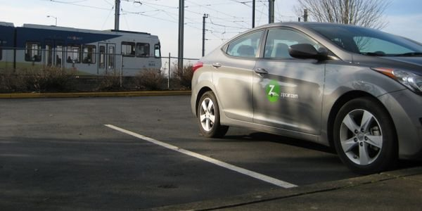 TriMet added two Zipcars at three park-and-ride locations along its MAX rail lines for a total...