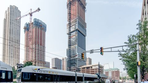 NJ TRANSIT is currently advancing mixed-use transit-oriented developments adjacent to Bayonne's...