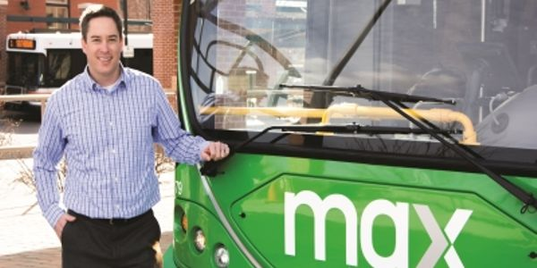 Kurt Ravenschlag, GM of Transfort, says that the new MAX BRT service, will operate with six...