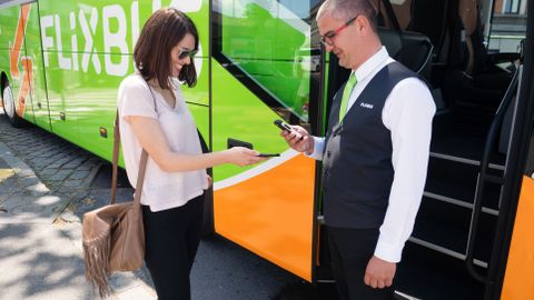 Flixbus has a distinctive business model: the company partners with established bus companies...