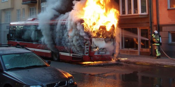 A New Wave of Fire Suppression On Board Public Transportation Vehicles