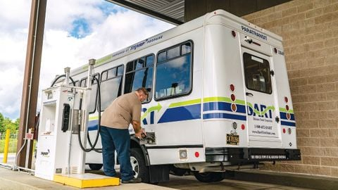 There are many alternative fuels on the market powering shuttle buses and paratransit bus...