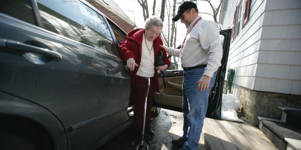 Based on data from its first million rides, ITN America's most common rider is a 90-year-old...