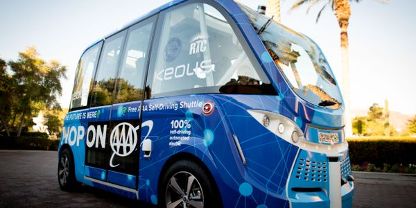 Keolis launched a year-long pilot project with its partners NAVYA and AAA. Keolis