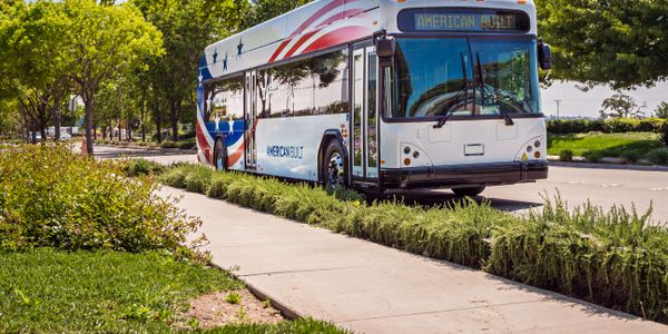 The GILLIG Battery Electric Bus will have a battery capacity of 444 kWh, with company officials...