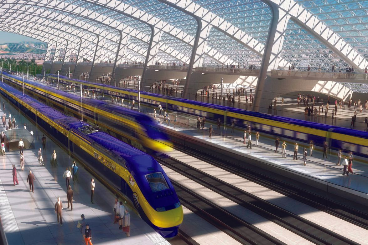 While continuing to be bashed by pundits, high-speed rail projects continue making forward progress.