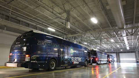 In May, MetroLINK added five new Proterra battery-electric buses, bringing its total to...
