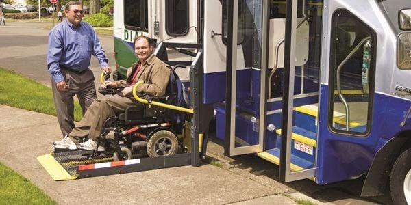 Olympia, Wash.-based Intercity Transit's Dial A Lift paratransit service.