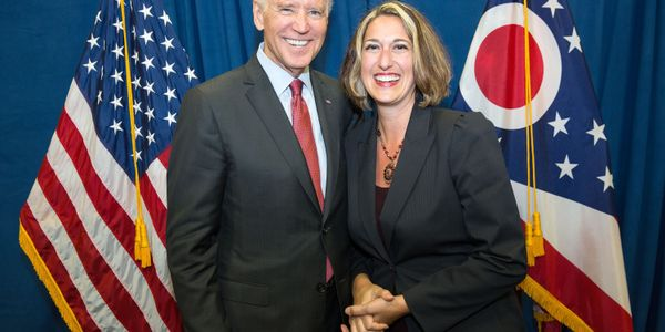 Last year, Shaffer and the Cleveland RTA team hosted Vice President Joe Biden at their rail...