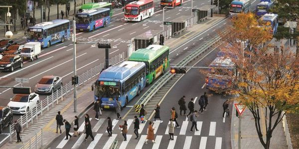 Seoul instituted comprehensive bus reforms that aimed to reduce the need to move about the city...