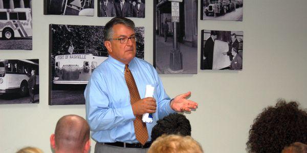 Stephen Bland is CEO for both Nashville's Metropolitan Transit Authority (WeGo Public Transit)...