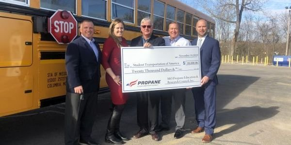 The Missouri Propane Education and Research Council presented Student Transportation of America...
